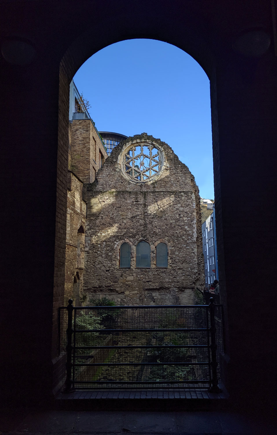 Winchester Palace, Pickford's Wharf, London, UK