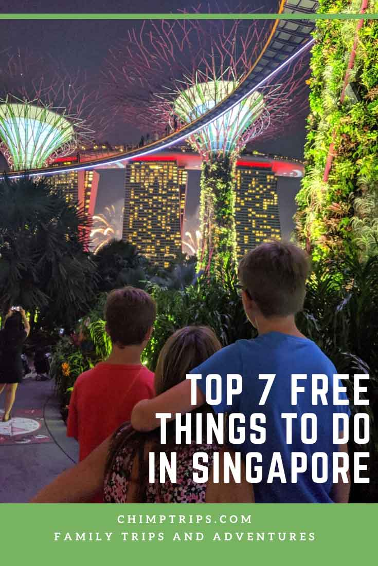 Top 7 free things to do in Singapore