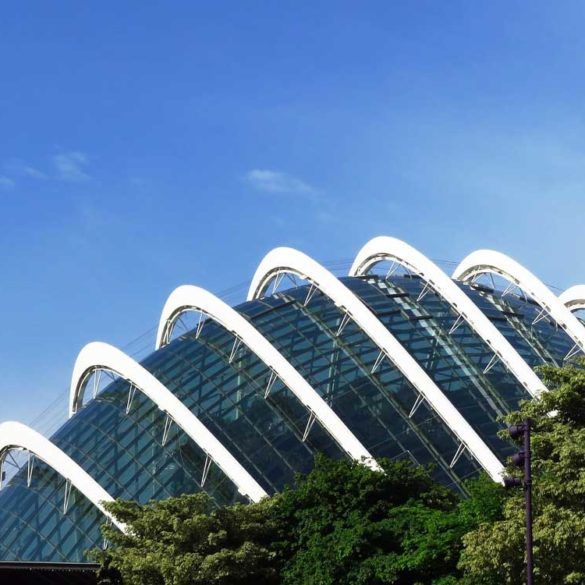 Flower Dome, Gardens by the Bay, Signapore