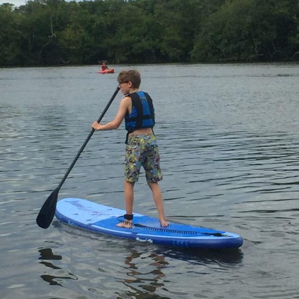 Paddle Boarding, Norfolk Broads, UK