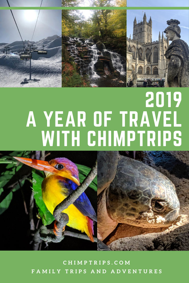 Pinterest - A year of travel with Chimptrips