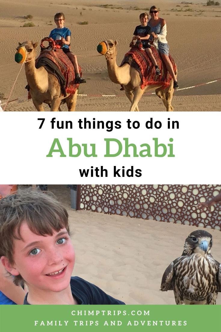 pinterest - 7 fun things to do in Abu Dhabi with kids