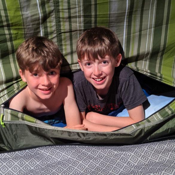 Camping, Winksworth Farm, UK