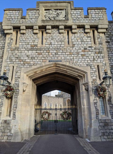 Saint Georges Gate, Windsor Castle, Windsor