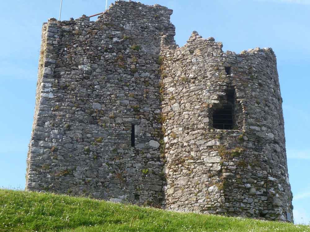 Tenby Castle, Tenby, Wales