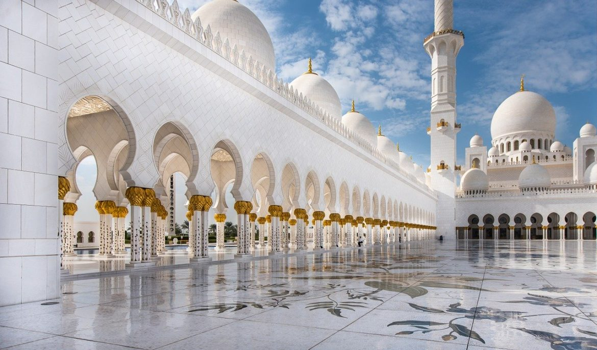 Sheikh Zayed Grand Mosque., Abu Dhabi