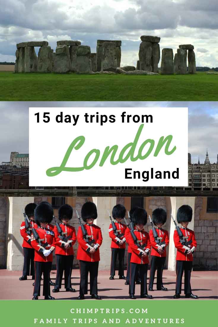 Pinterest 15 day trips from London