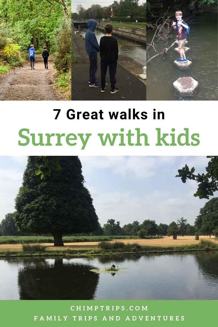 Pinterest - 7 great walks in Surrey