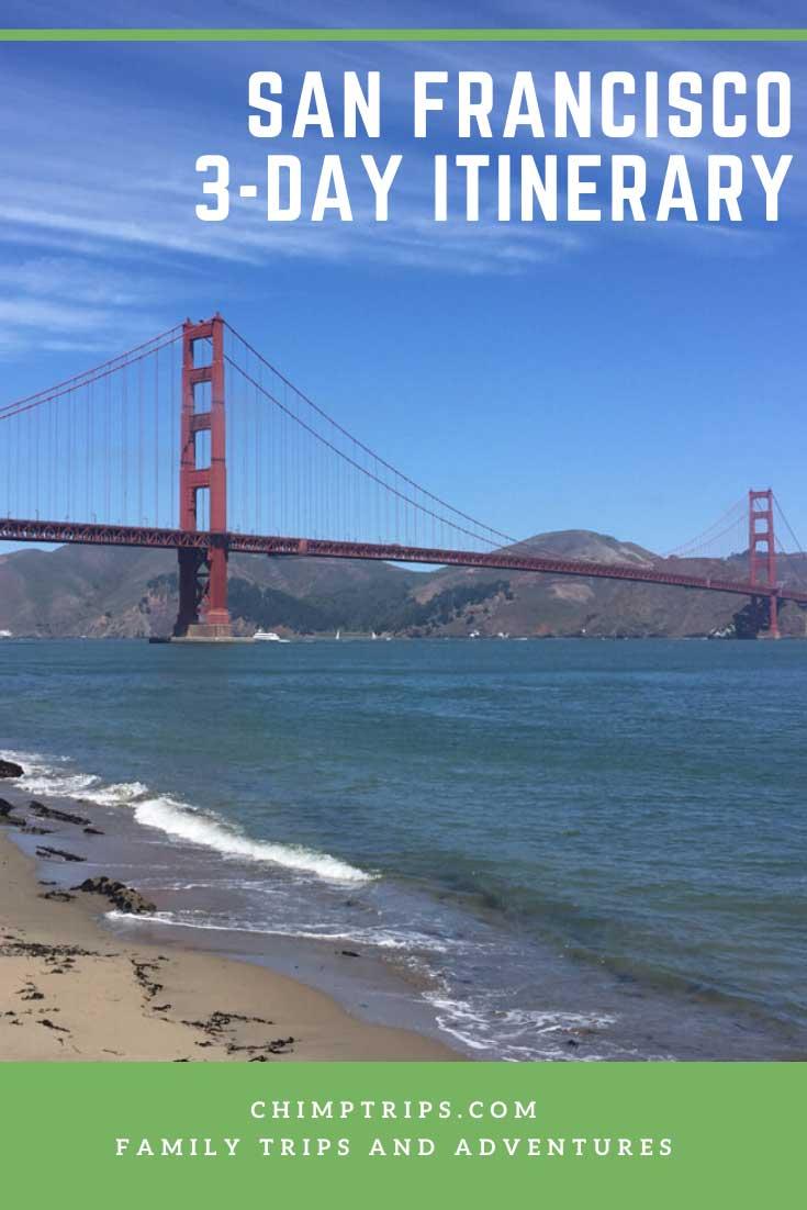 Pinterest: San Francisco 3-day Itinerary