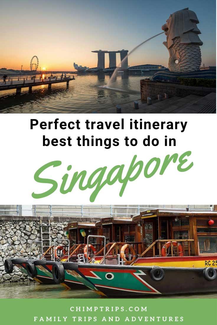 Singapore 4-day itinerary