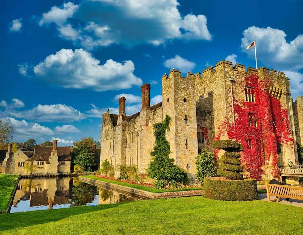 Image of Hever Castle, Kent, UK