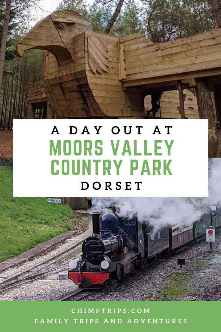 A day out at Moors Valley Country Park, Dorset, England