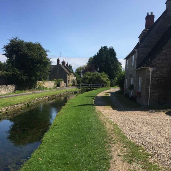 image of stream running through Cotswold Village