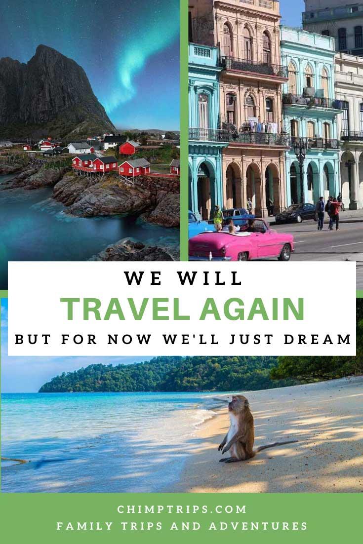 Pinterest - We will travel again