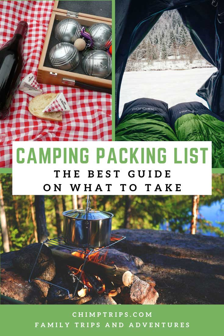 Pinterest - Camping Packing List