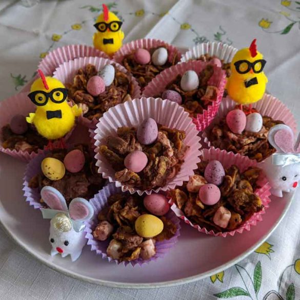 Home baking Easter treats