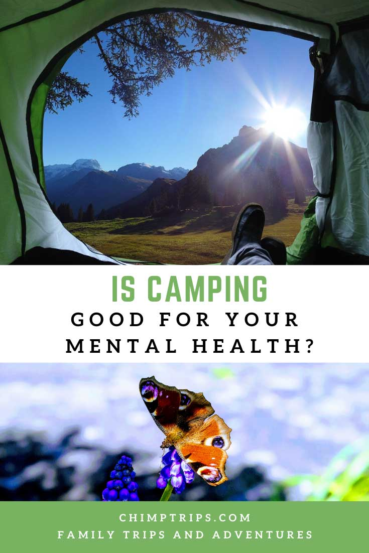Pinteres: Is camping good for your mental health?