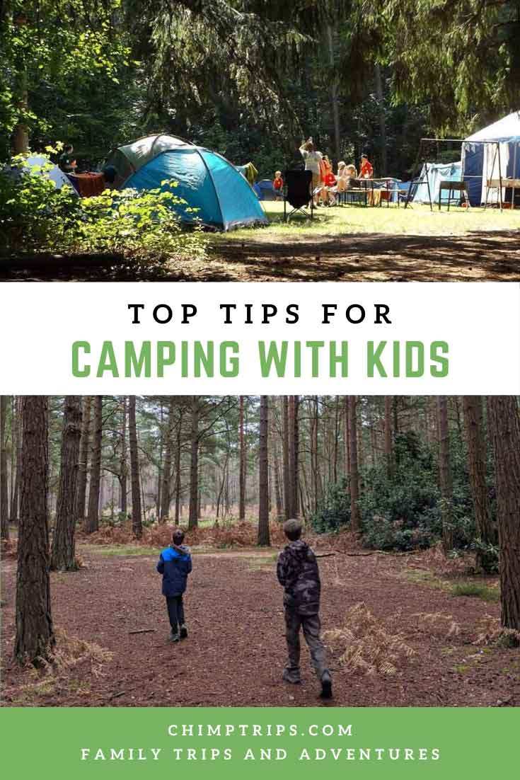 Pinterest Top tips for camping with kids-k
