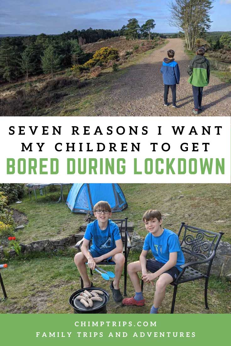 Pinterest Seven reasons why i want my children to get bored during lockdown