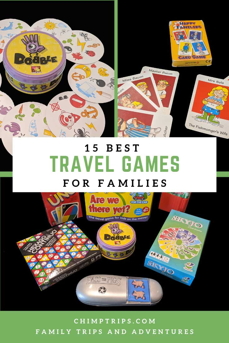 Pinterest 15 Best travel games for families