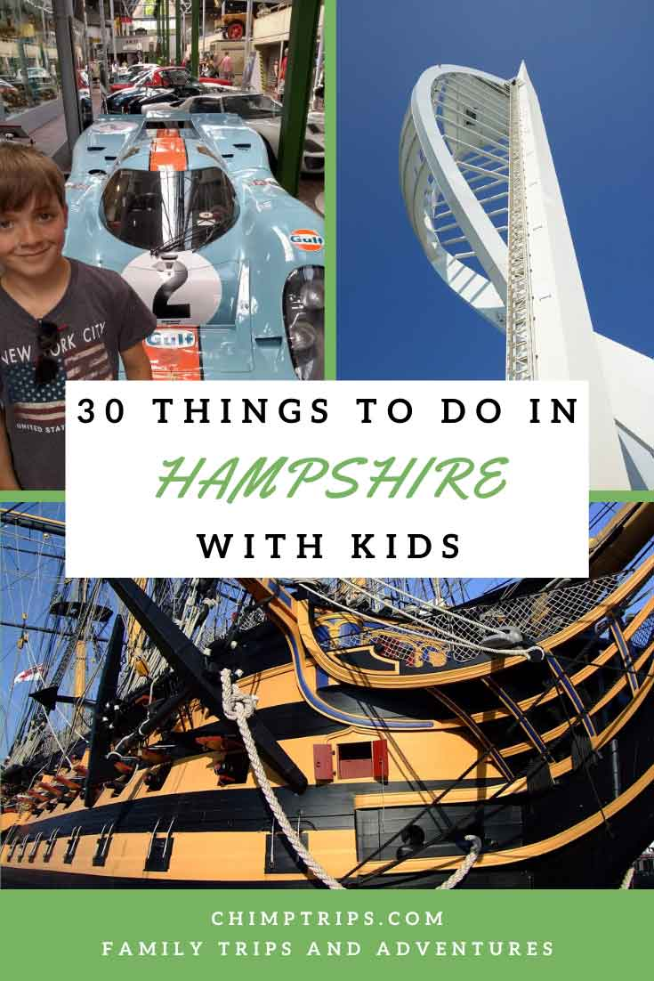Pinterest: 30 things to do in Hampshire