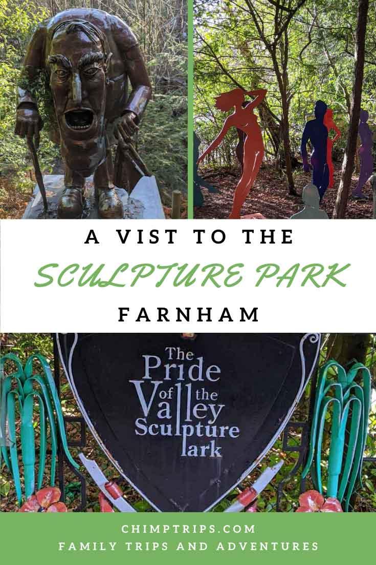 Pinterest A vist to the Sculpture Park, Farnham