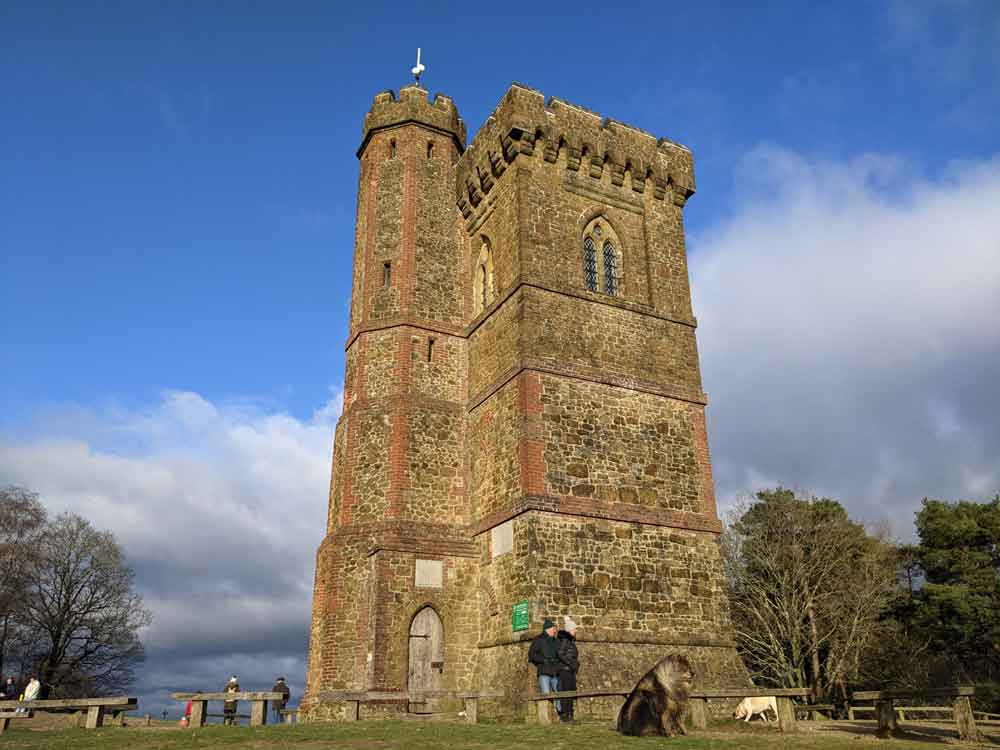 Leith Hill Tower, Surrey Hills, Surrey