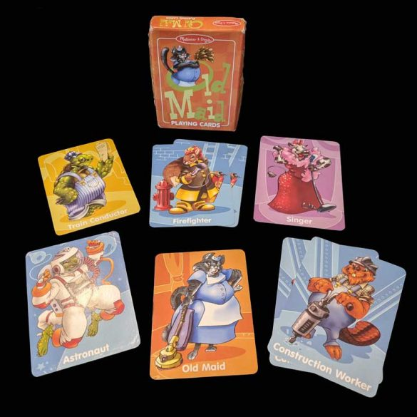 Travel Games - Old Maid