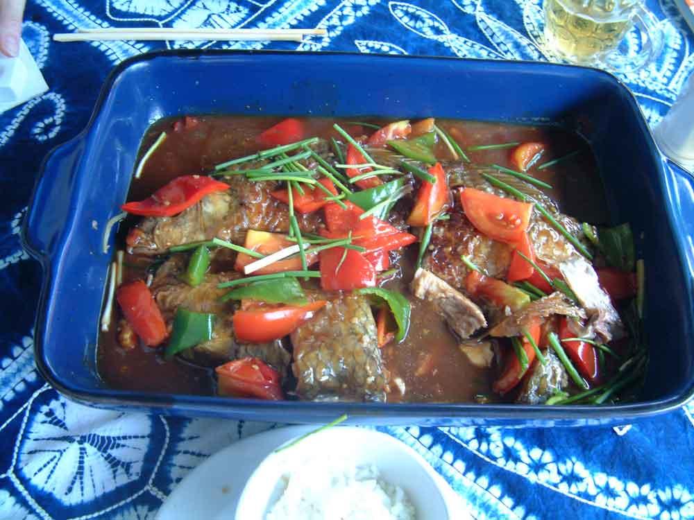 Yangshou Beer Fish in Guilin, China