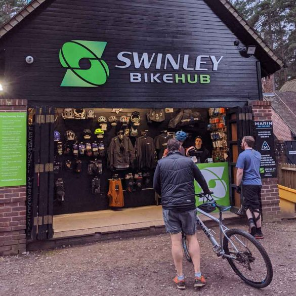Cycle shop at Swinley forest