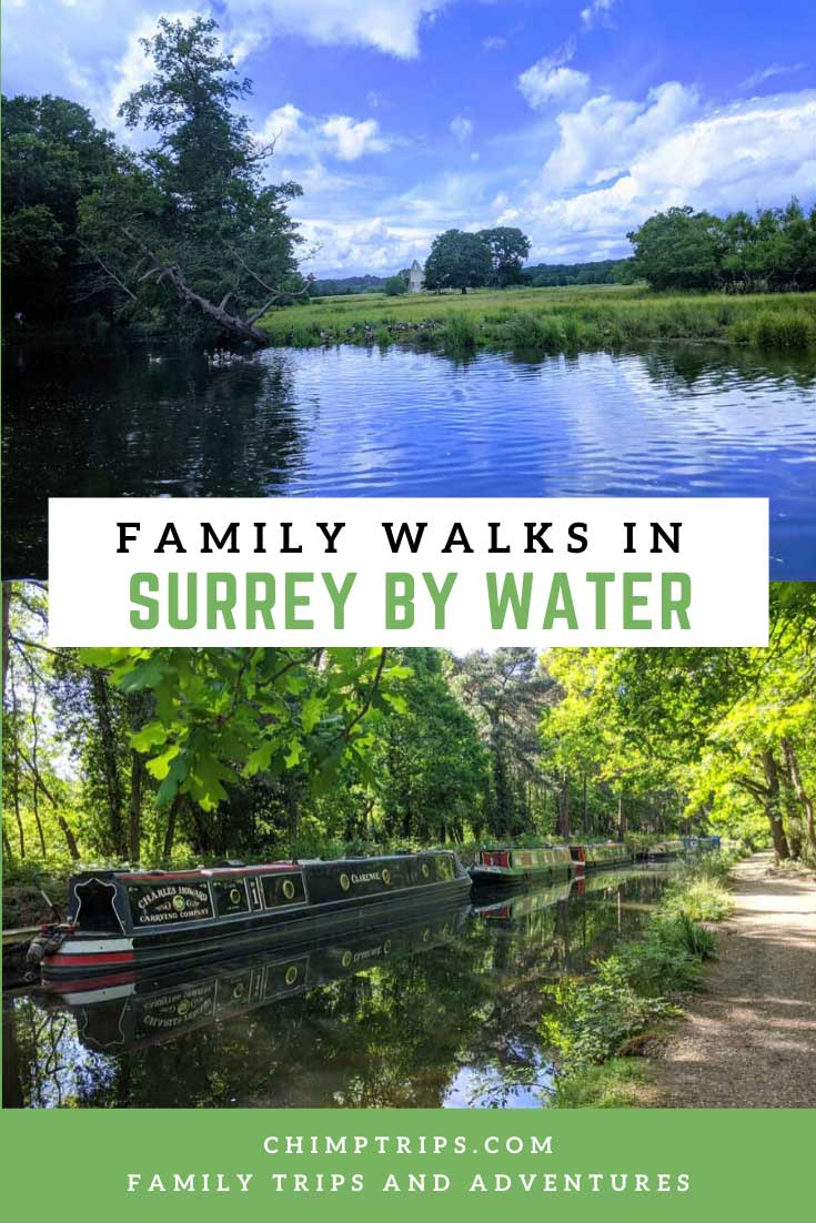 Pinterest - Family walks in Surrey by water