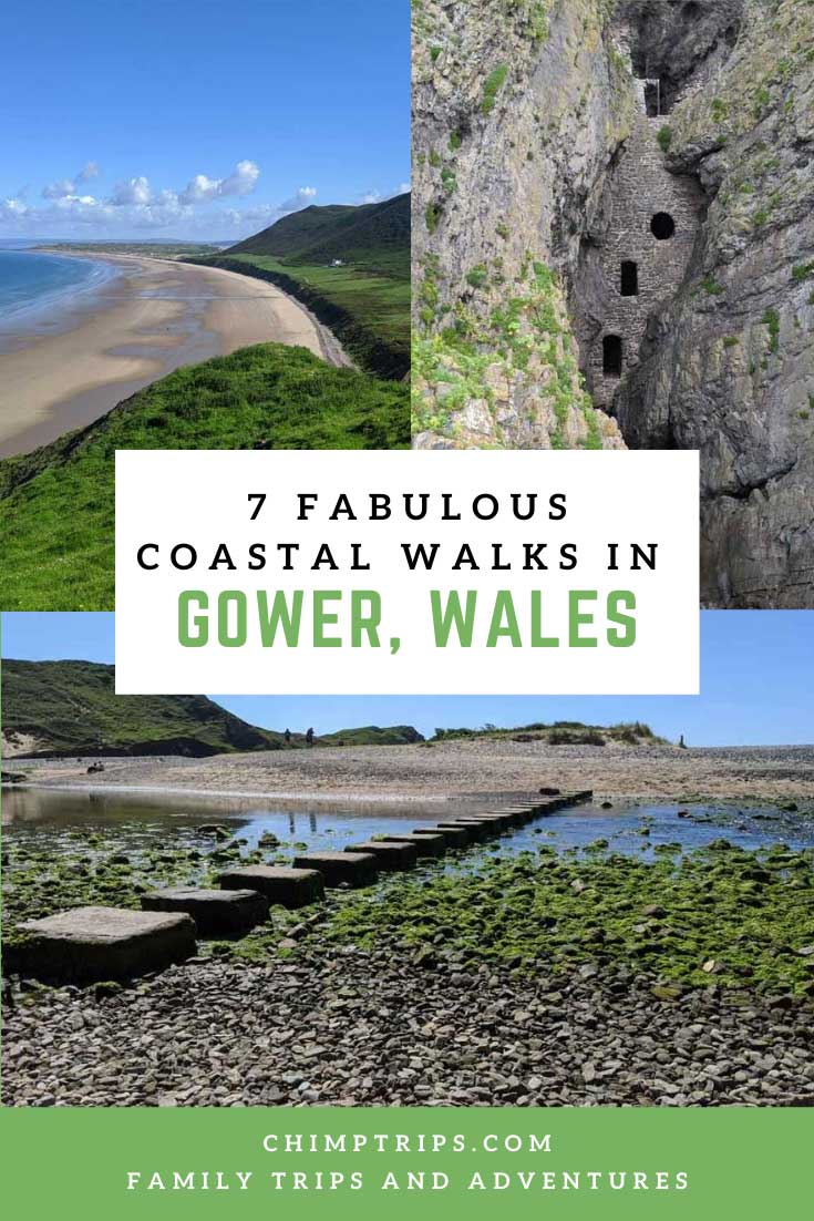 Pinterest: 7 Fabulous Coastal Walks in Gower, Wales