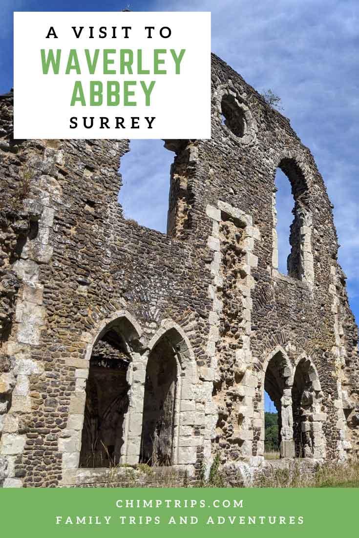 Pinterest: A visit to Waverley Abbey, Surrey