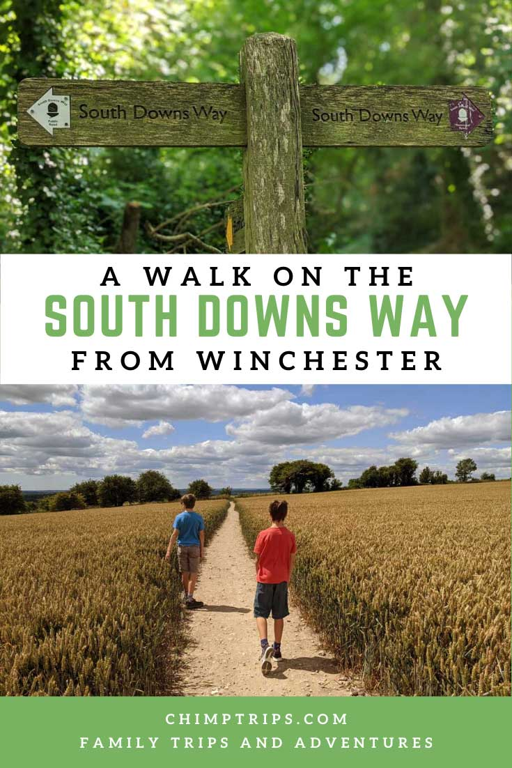 Pinterest - A walk on the South Downs Way