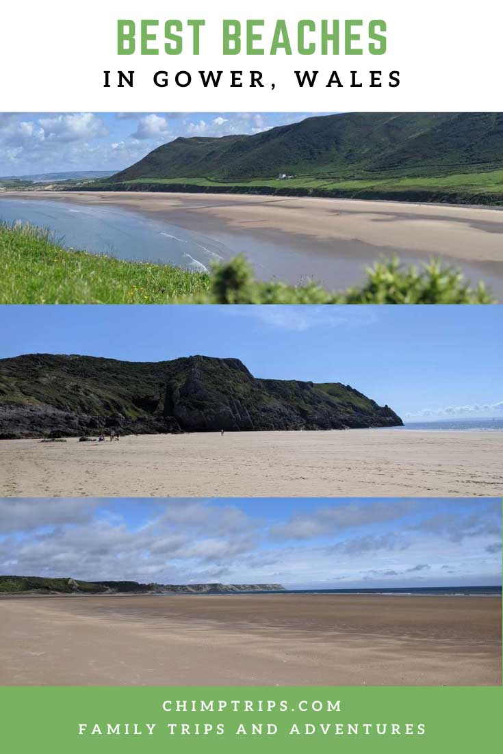 Pinterest: Best Beaches in Gower, Wales
