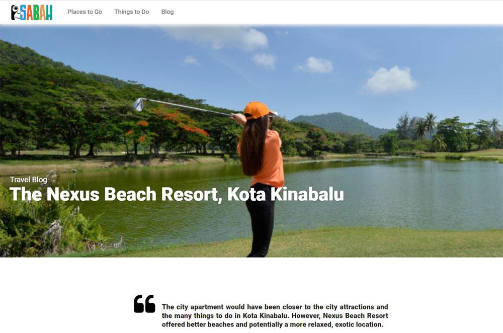 Sabah Tourism Press Coverage
