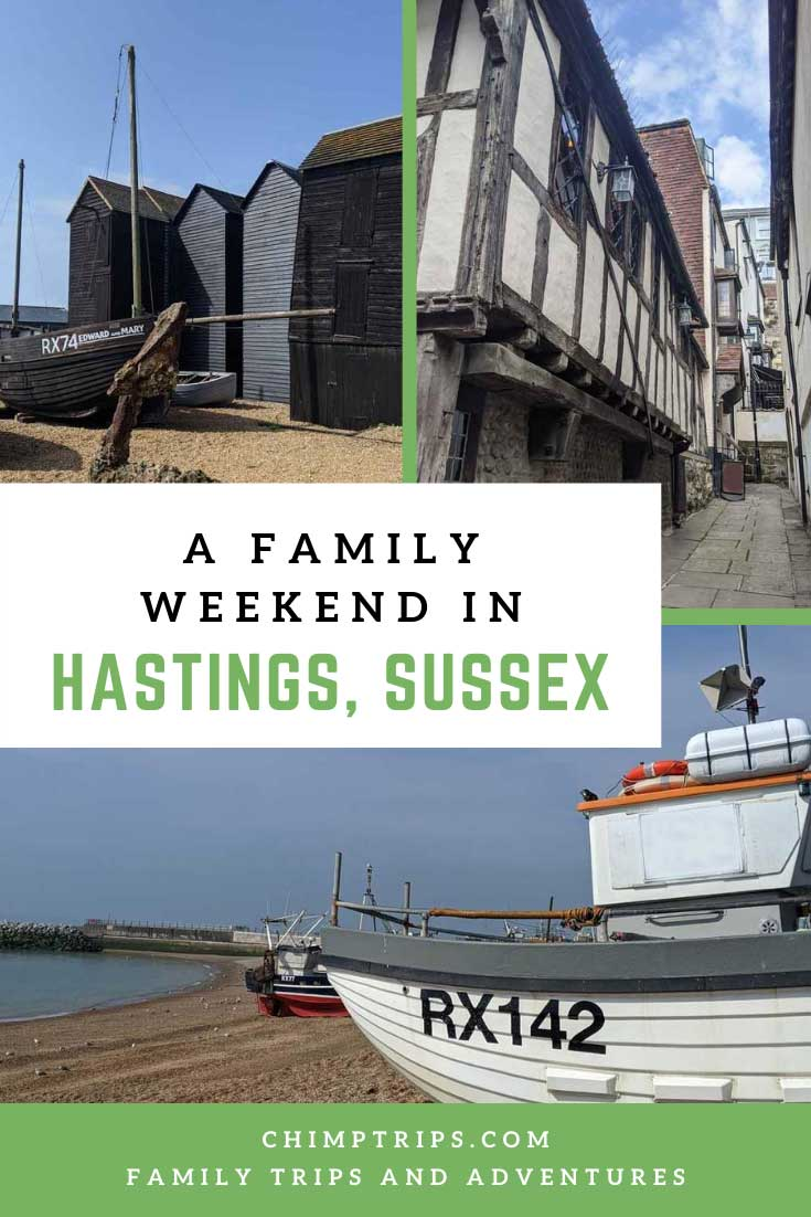 Pinterest: A family weekend in Hastings, Sussex