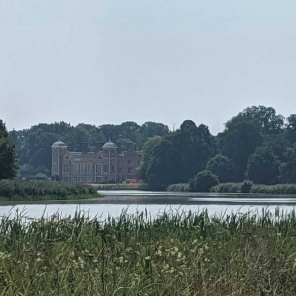 View of Blickling Estate across Lake, Norfolk