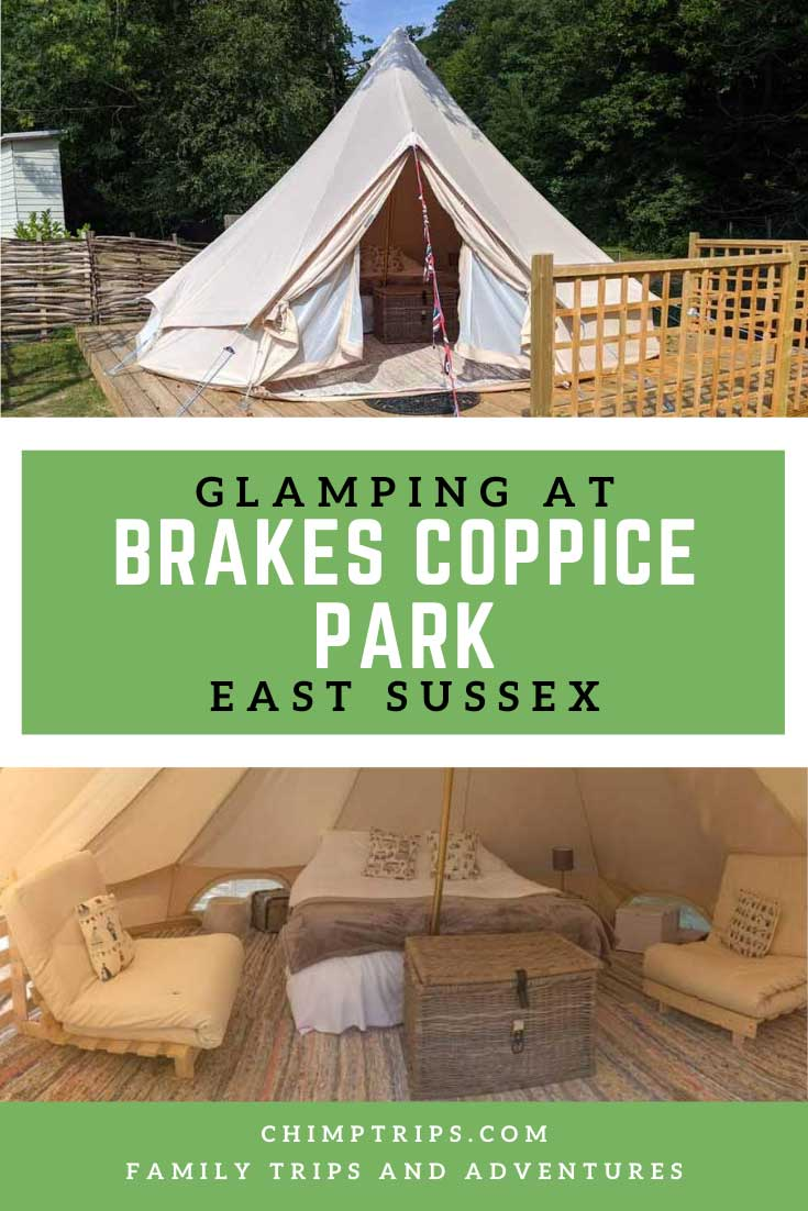 Pinterest: Glamping at Brakes Coppice Park, East Sussex