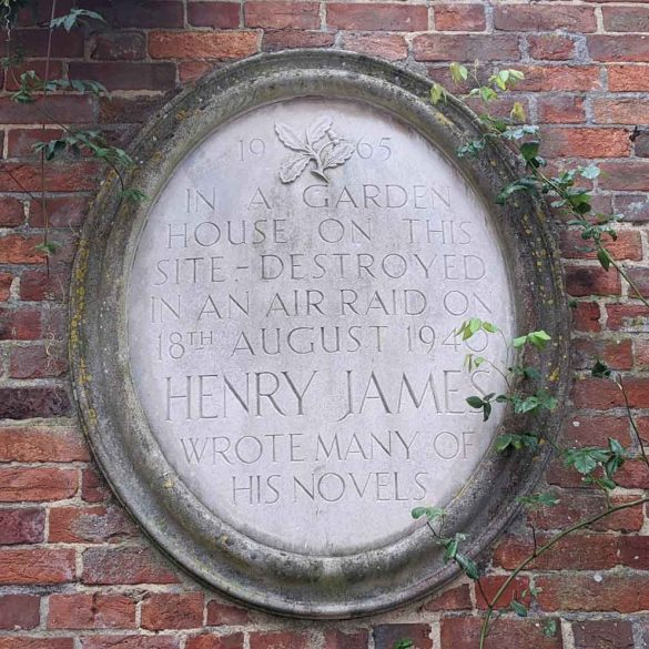 Henry James, Memorial stone, Rye, East Sussex, England