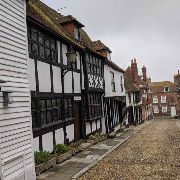 Cobbled Street, Historic Rye, East Sussex, England