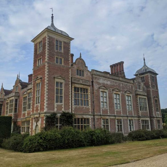 View of the rear of Blickling Estate, Norfolk