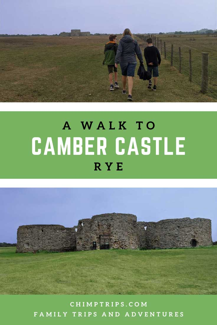 Pinterest: A Walk to Camber Castle, Rye, Sussex