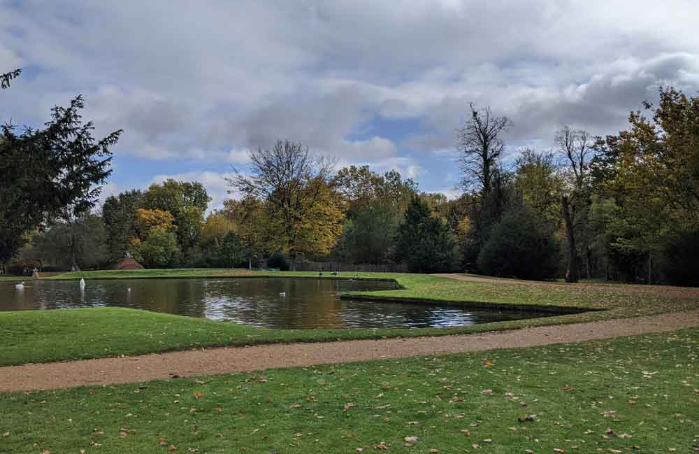 The Water Gardens, Bushy Park, London, UK