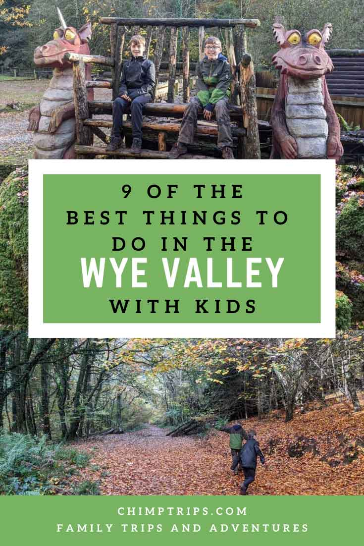 Pinterest: 9 of the best things to do in the Wye Valley with Kids