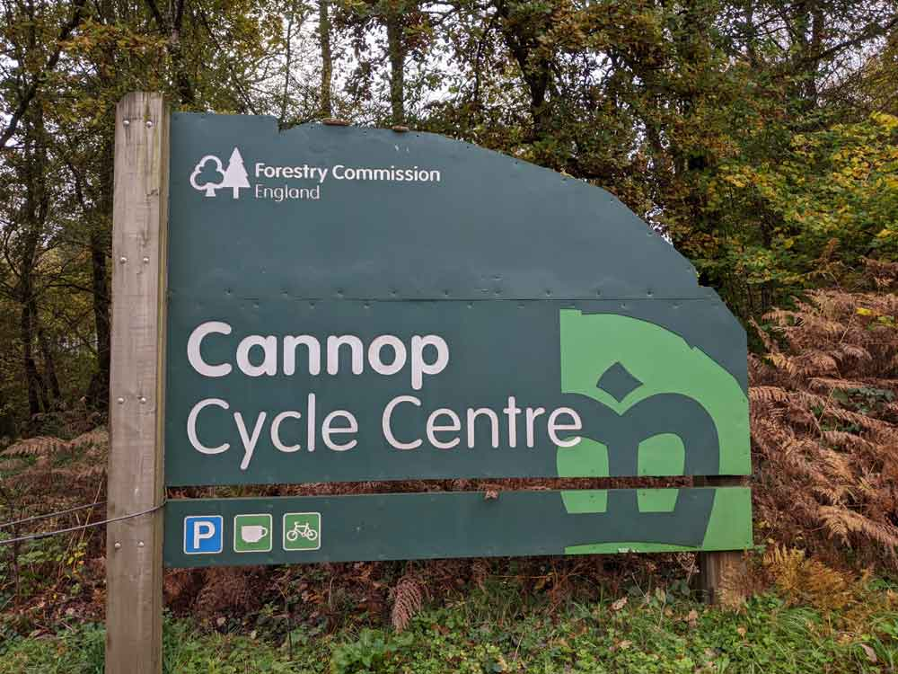 Cannop Cycle Centre, Forest of Dean, Wye Valley, UK