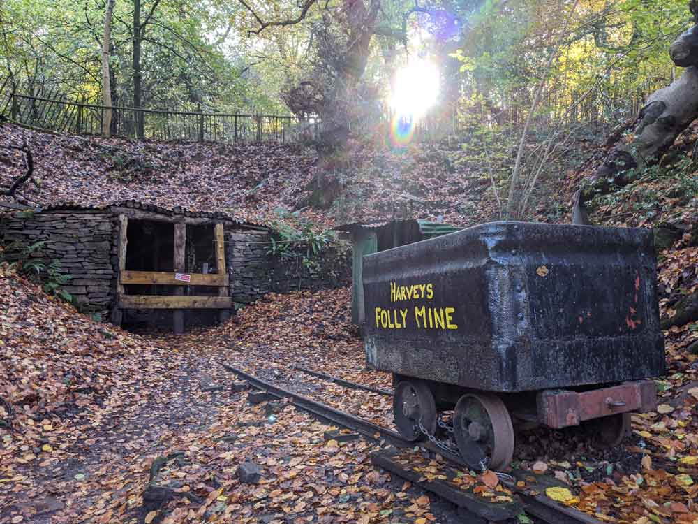 Freeminer's mine, Heritage Centre, Forest of Dean, Gloucestershire, UK
