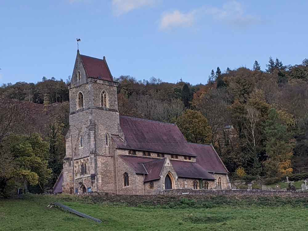 Holy Jesus Church, Lydbrook, Wye Valley, Gloucestershire, UK