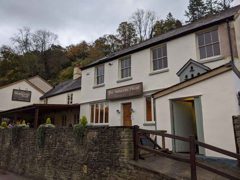 Saracens Inn, Symonds Yat East, Wye Valley, Gloucestershire, UK