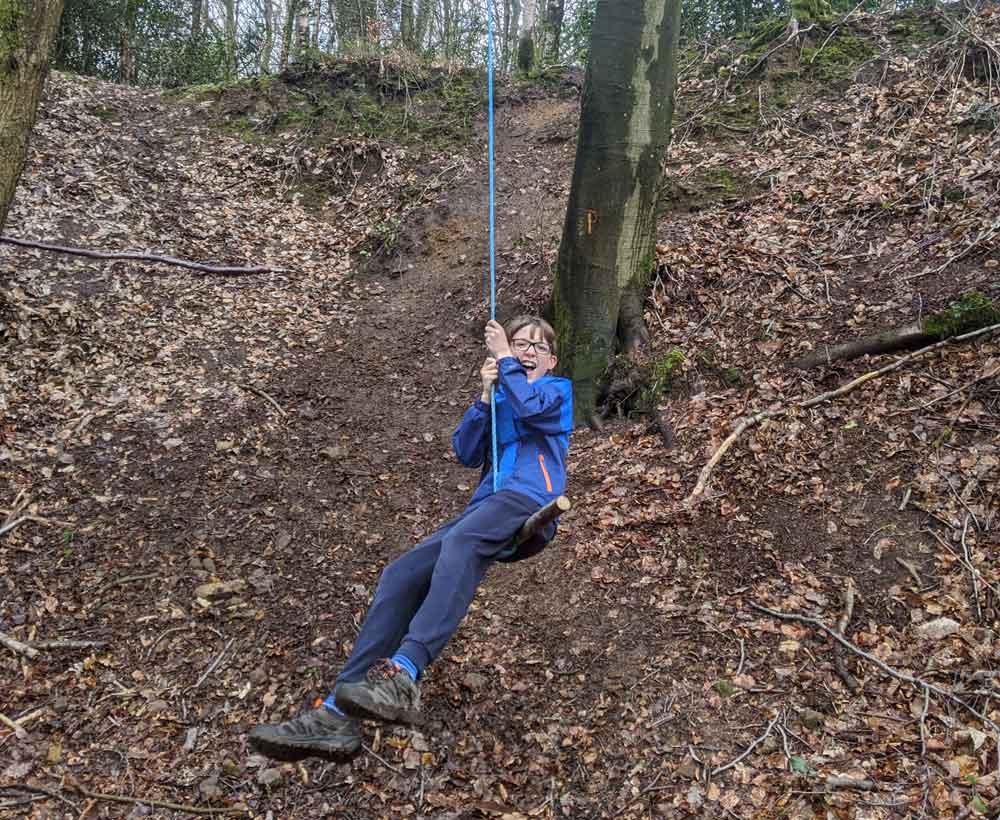 Swing on Greensands Way